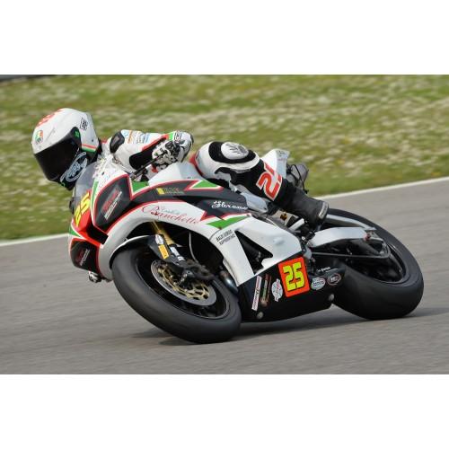 CARENA COMPLETA IN TESSUTO DI VTR CON RINFORZI IN CARBONIO – modello racing